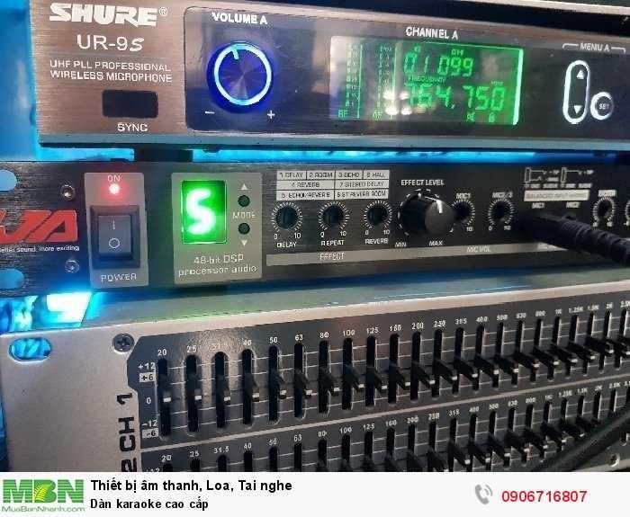 Dàn karaoke cao cấp