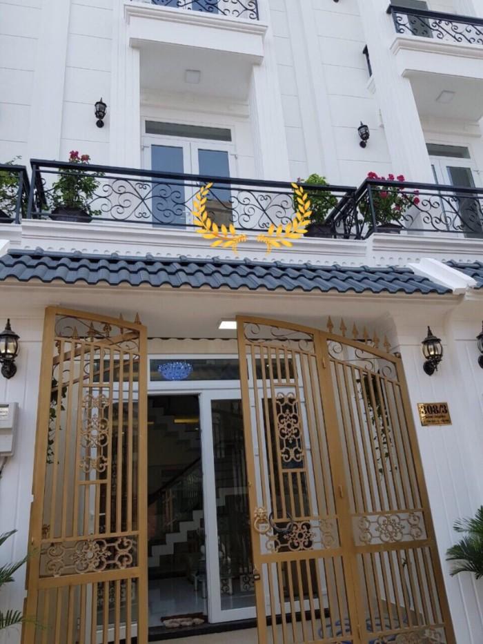 Bán 12 căn nhà xây sẵn hẻm 8m đường 17A, Bình Tân, gần công ty Pouyen
