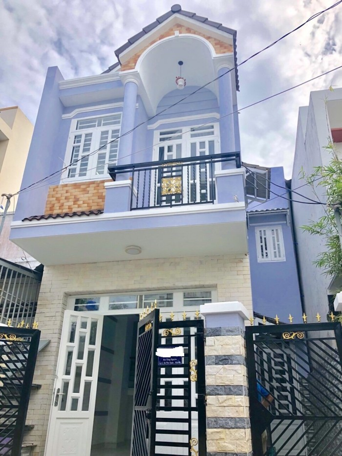 Bán nhà hẻm 28 đường Đào Tông Nguyên, Huyện Nhà Bè, 1 lầu 1 trệt, 2PN, DT 85m2