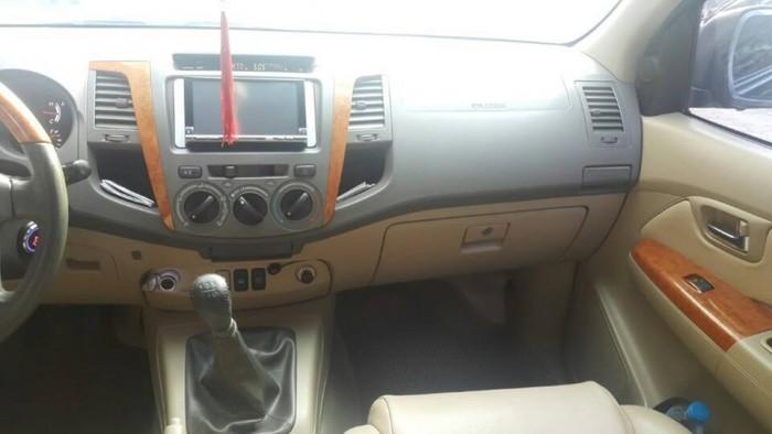Bán xe Toyota  Fortuner đời 2010 số sàn máy dầu, màu đen bóng loáng 5
