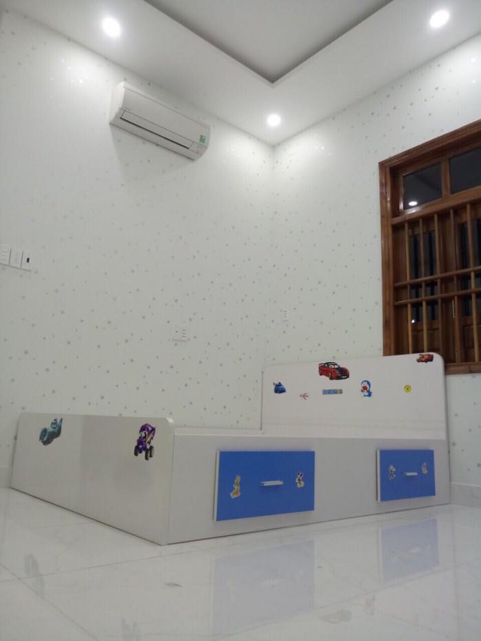 Nhà mới 1 trệt, 2 lầu, hẻm 12 Quang Trung P.TNPB, q9
