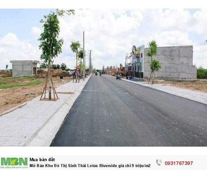 Mở Bán Khu Đô Thị Sinh Thái Lotus Riverside giá chỉ 9 triệu/m2