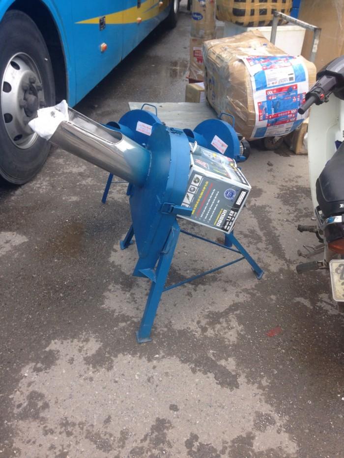 Bán máy băm cỏ sản xuất thức ăn cho vật nuôi sử dụng động cơ điện 1kW giá rẻ nhất1