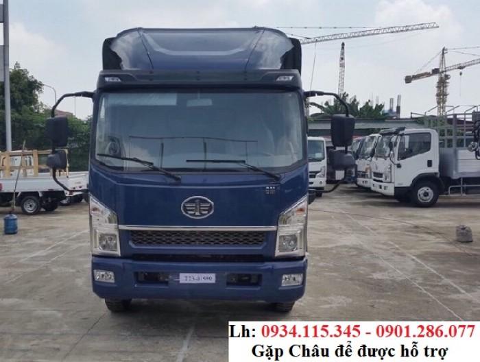Xe tải Faw 7.3 Tấn - 7t3 - 7300kg - xe tải trung - máy Hyundai - trả góp 80% 3