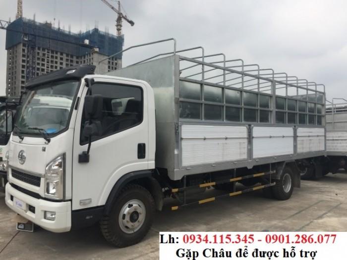 Xe tải Faw 7.3 Tấn - 7t3 - 7300kg - xe tải trung - máy Hyundai - trả góp 80%