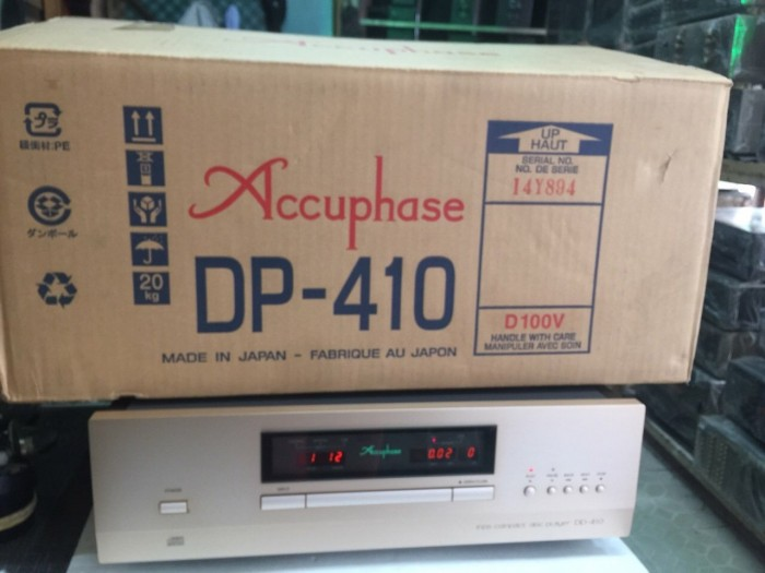Bán chuyên CD accuphase DP 410 hàng bãi tuyển, đẹp như mới4