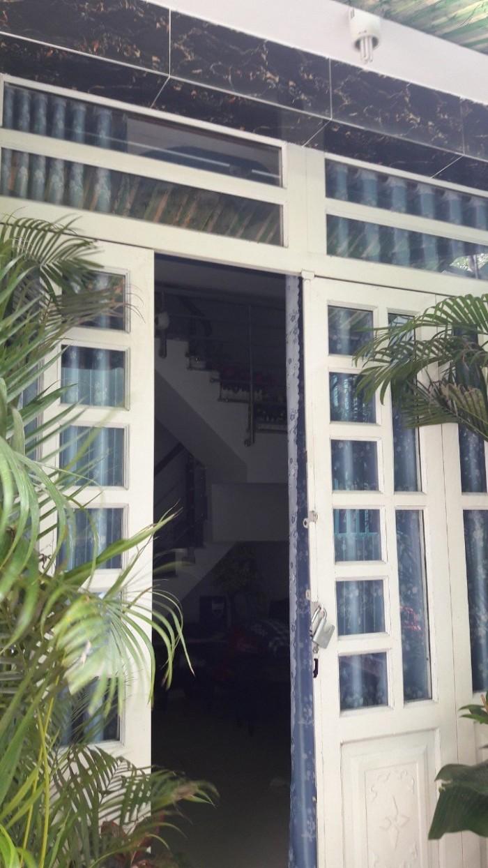 Nhà giá rẻ Nhà Bè, bán nhà hẻm 96 đường Đào Tông Nguyên, Phú Xuân, Nhà Bè DT 26m2, 2 lầu, 4PN