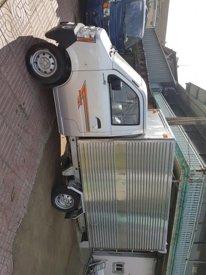 Xe tải Dongben 810kg thùng mui bạt đời 2018, công nghệ Euro 4
