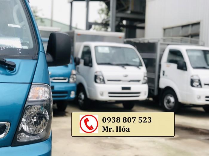 cần bán xe tải kia k250, xe 2 tấn 4, 1t4, 2 tấn 49 chạy trong thành phố, trường hải thaco 8