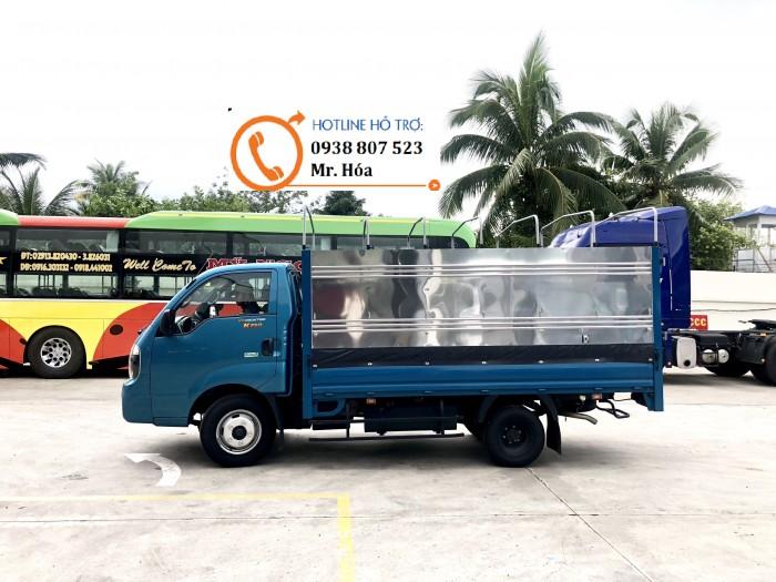 cần bán xe tải kia k250, xe 2 tấn 4, 1t4, 2 tấn 49 chạy trong thành phố, trường hải thaco 4