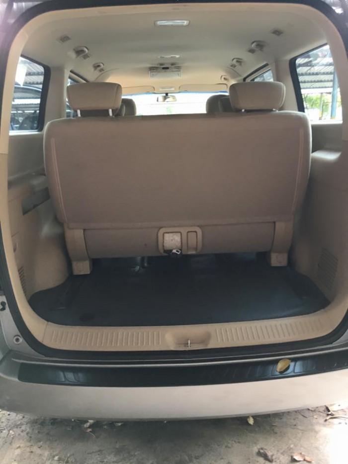 Bán xe Hyundai Grand Starex 2015 dầu số sàn 9 chỗ, màu bạc