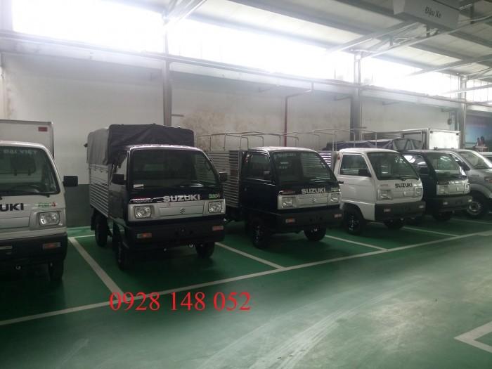 Tặng phí đăng kí đăng kiểm và bảo hiểm thân xe cho toàn bộ xe suzuki truck 1