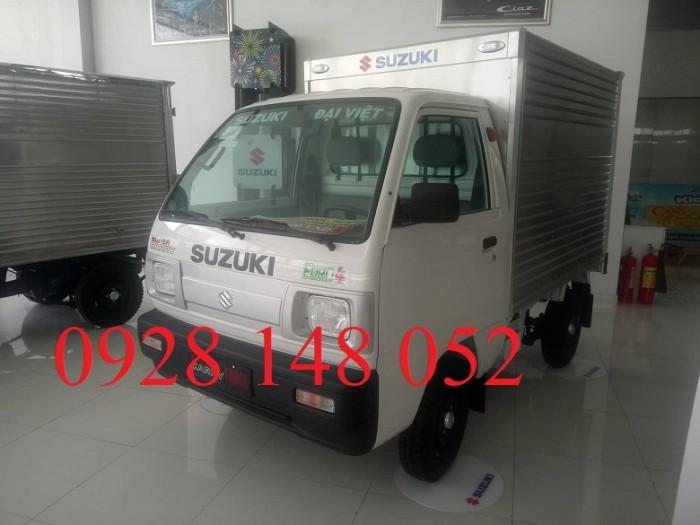 Xe tải suzuki truck thùng kín 2018 4