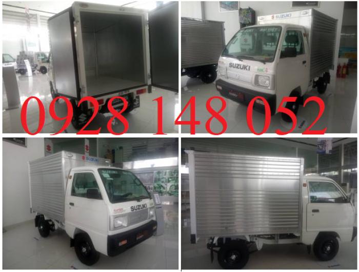 Xe tải suzuki truck thùng kín 2018 3