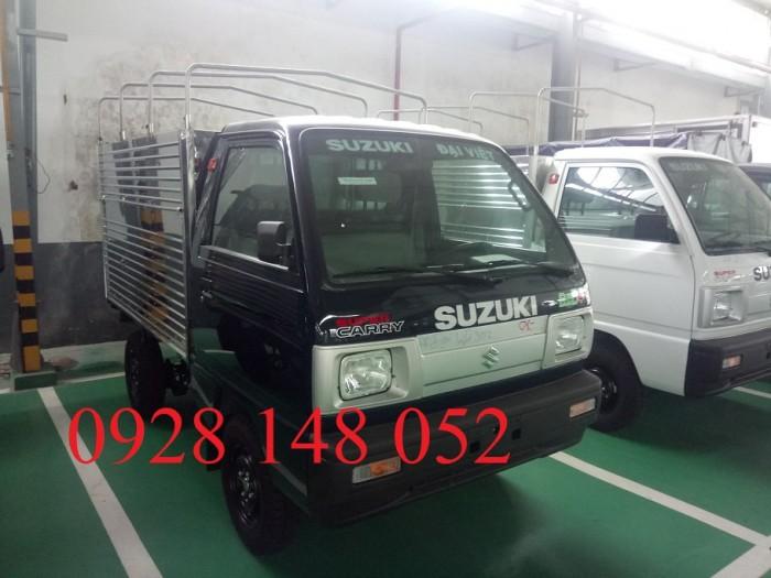 Xe tải suzuki ben. Tặng 100% phí đăng kí đăng kiểm Tặng bảo hiểm thân vỏ 4
