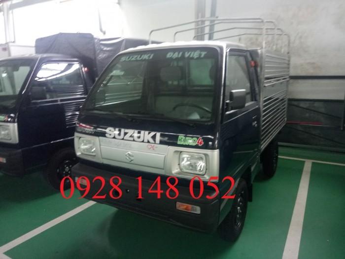 Xe tải suzuki ben. Tặng 100% phí đăng kí đăng kiểm Tặng bảo hiểm thân vỏ 2