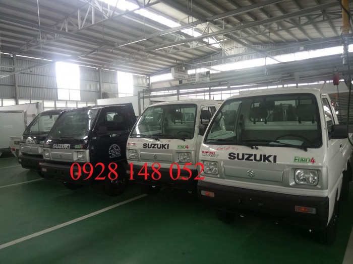 Xe tải suzuki ben. Tặng 100% phí đăng kí đăng kiểm Tặng bảo hiểm thân vỏ
