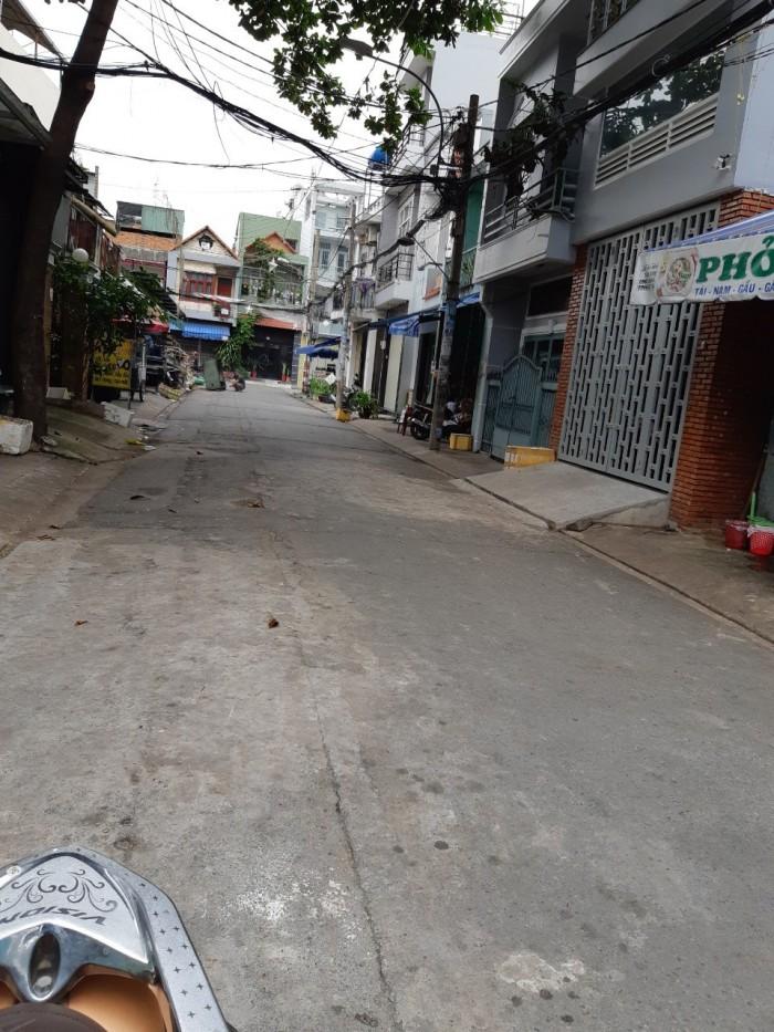 Bán nhà HXT đường Lê Sát quận Tân Phú 4x21m vuông vức 1 lầu