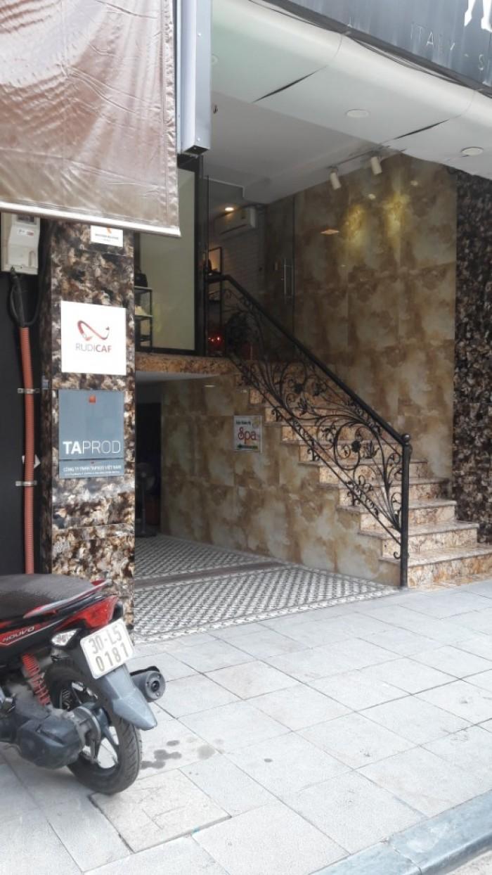 Bán nhà mặt phố Thợ Nhuộm Hoàn Kiếm Hà Nội, 30m2 xây 7 tầng