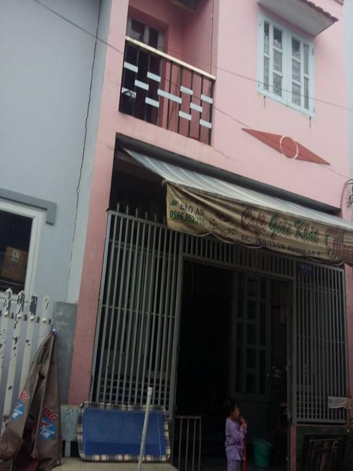 Bán nhà hẻm 1 xẹt, 564/ Lê Văn Thọ , hẻm xe ô tô vô tới nhà