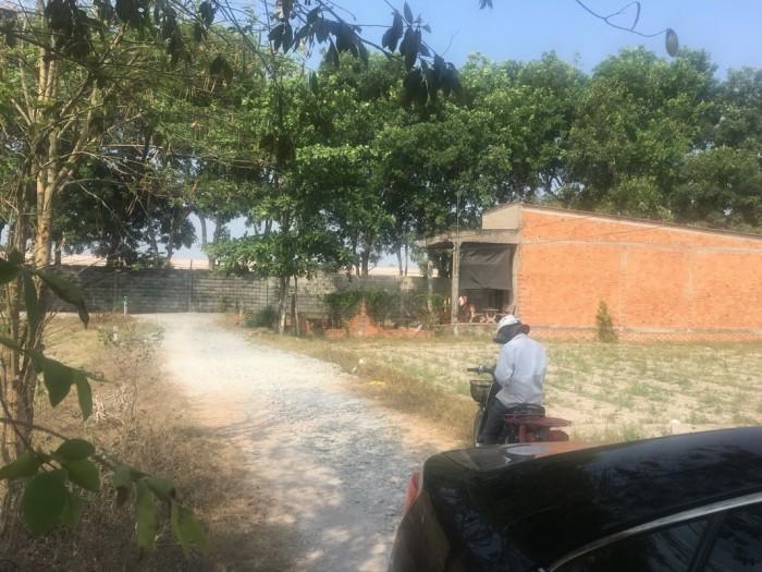 Cần nhà đất Long An thổ cư 2 mặt tiền vị trí đẹp tại xã Đức Hòa Thượng
