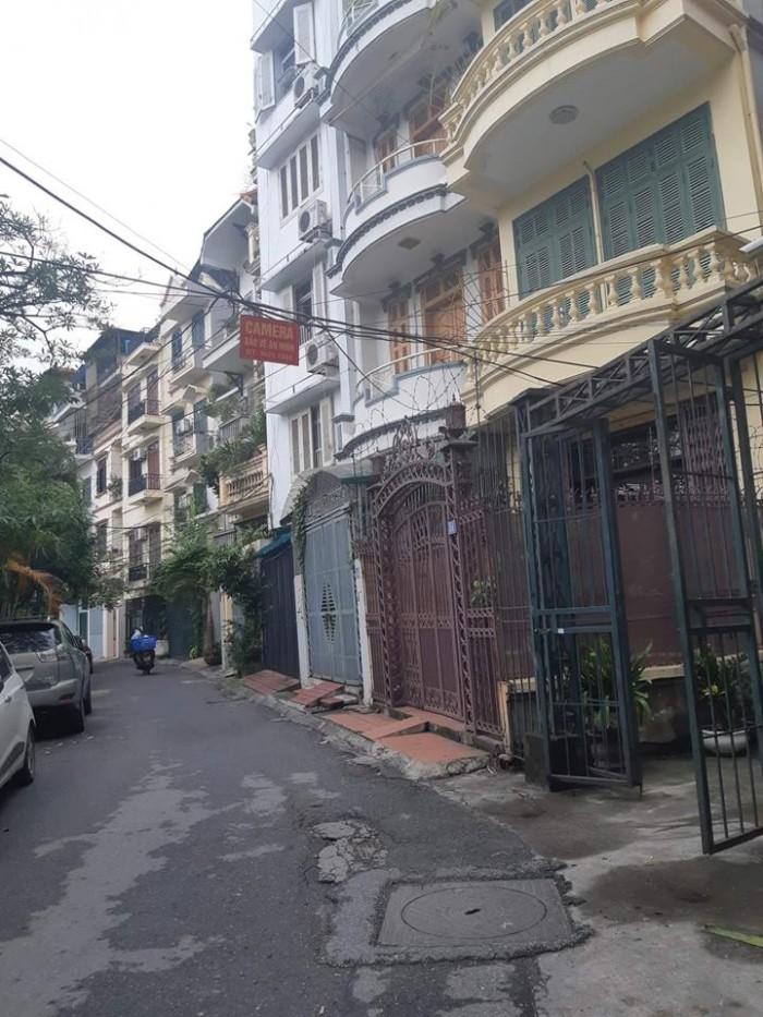 Bán gấp nhà phân lô đường rông 8m ô tô tránh phố Yên Lạc 78m2, 4tầng, Mt 5m