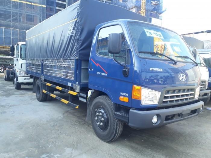 Bán xe tải Hyundai HD800 8 tấn, đóng thùng theo yêu cầu - Hyundai Vũ Hùng cam kết giá rẻ nhất miền Nam - Gọi 0933638116 (Mr Hùng 24/24)
