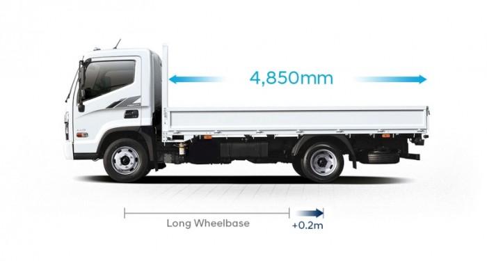 Bán xe tải Hyundai Mighty 2.5 tấn - Hyundai Vũ Hùng cam kết giá xe Hyundai rẻ nhất miền Nam - Gọi 0933638116 (Mr Hùng 24/24)