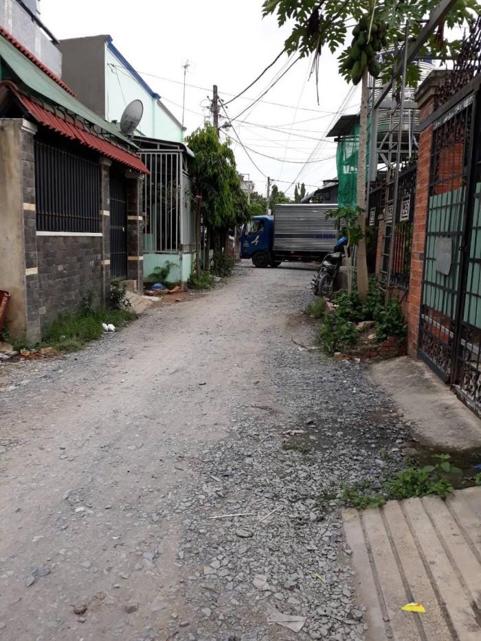 Bán thửa đất mặt tiền đường hẻm 68m2 xã Tân Quý Tây huyện Bình Chánh