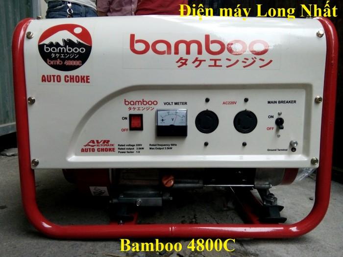 Máy phát điện bamboo 4800C4
