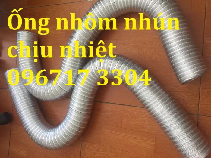 Ống nhôm nhún chịu nhiệt D100, D125, D150, D200, D250, D300 ,.. giá rẻ2