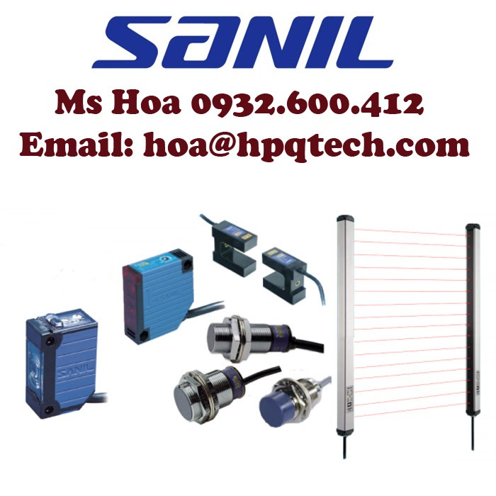 Cảm biến Sanil - Đại lý Sanil Việt nam12