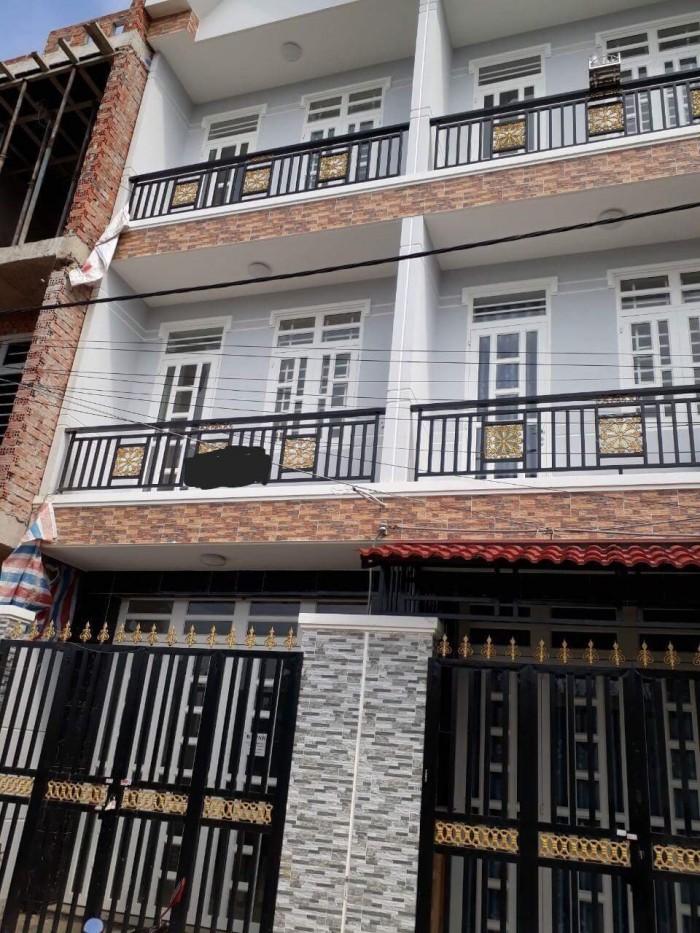 Bán nhà đường Nguyễn Bình Phú Xuân Huyện Nhà Bè Tp Hồ Chí Minh, 2 lầu, 4PN, sổ hồng ĐSH, DT 44m2