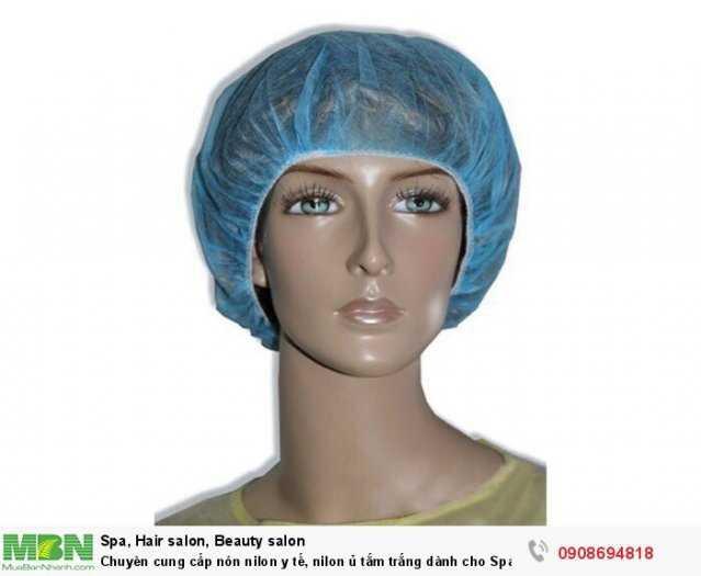 Chuyên cung cấp áo choàng, nón nilon y tế, nilon dành cho Spa0