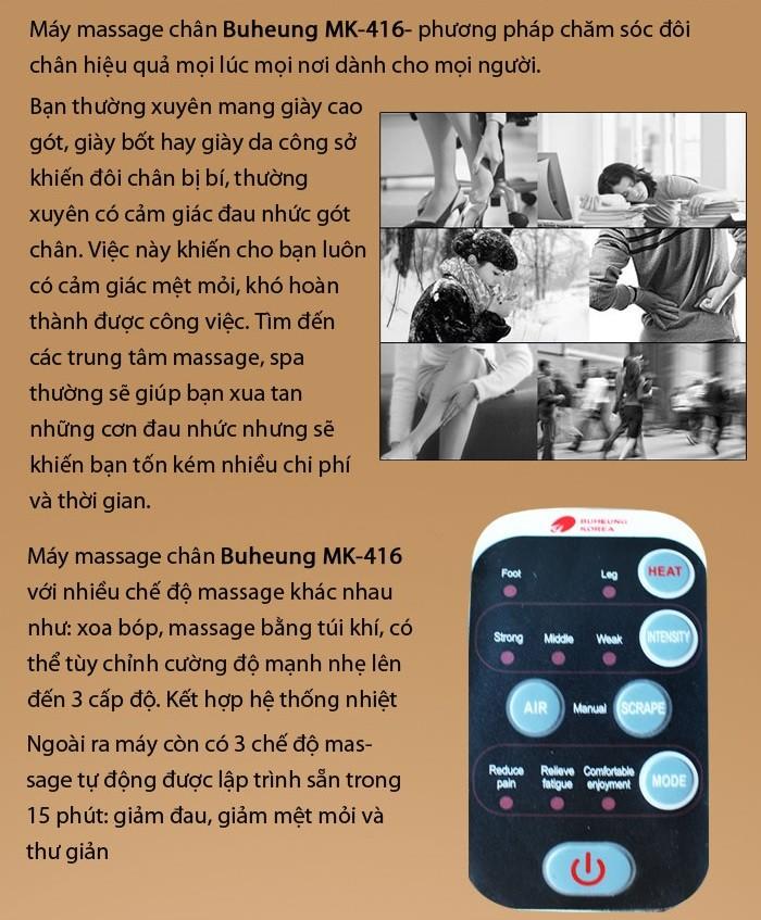 Massage chân Buheung MK-416 - Gymaster3