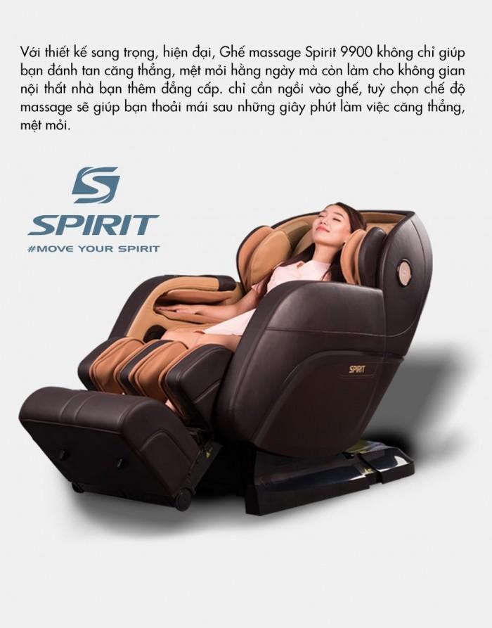 Ghế massage Buheung Spirit 9900 NEW - Gymaster14
