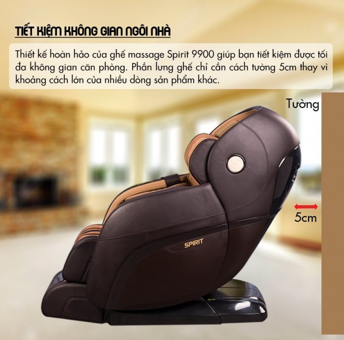 Ghế massage Buheung Spirit 9900 NEW - Gymaster6