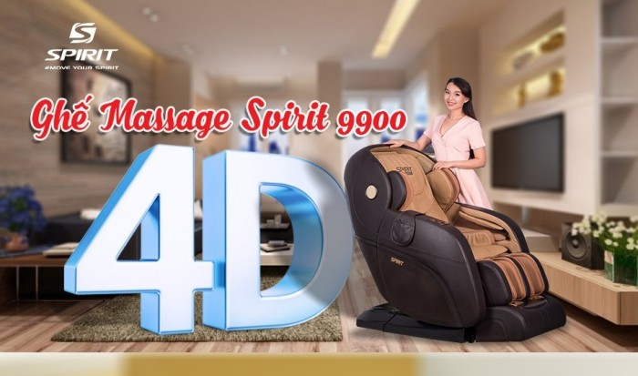 Ghế massage Buheung Spirit 9900 NEW - Gymaster4