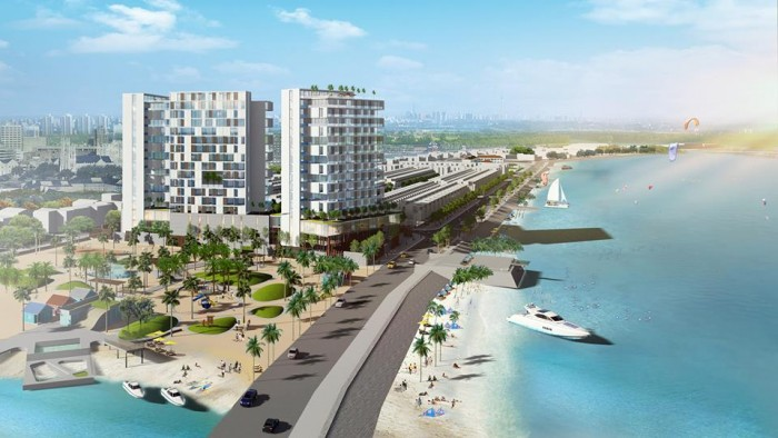 Cơ hội sở hữu đất mặt tiền biển Phan Thiết Dự án VietPearl