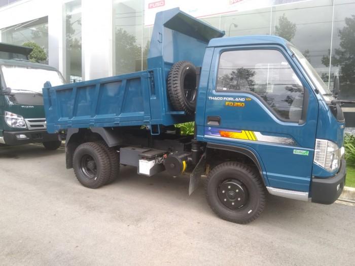 Xe ben trường hải 2,5 tấn mới nhất đời 2018 động cơ tiêu chuẩn Euro4