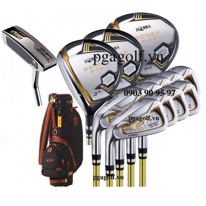 Bộ Gậy Golf Honma Beres S-06 2 Sao Left Hand (New Model)0
