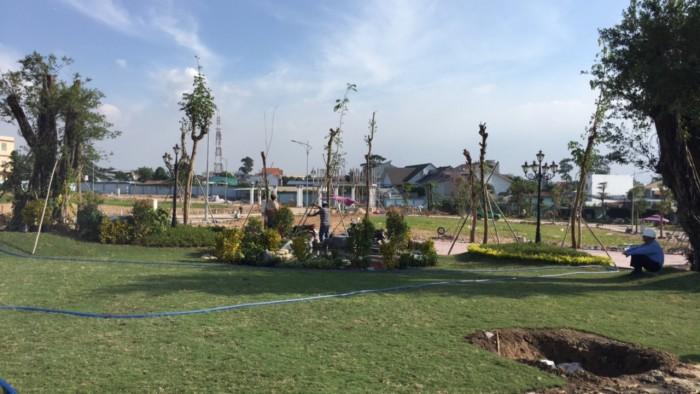 Đất nền ngay chợ Lái Thiêu Thuận An , sổ đỏ, thổ cư 100%, giá rẻ