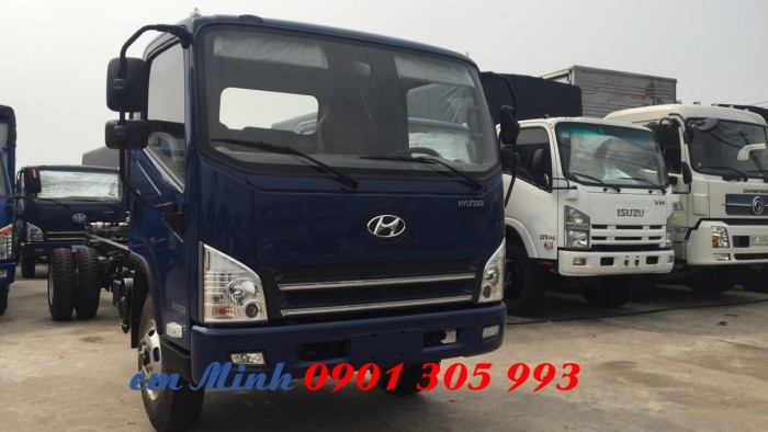 Xe tải Hyundai 7 tấn 3 thùng dài 6m3, xe tải thùng kèo bạt giá rẻ 4