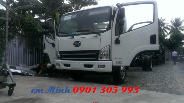 Xe tải Hyundai 7 tấn 3 thùng dài 6m3, xe tải thùng kèo bạt giá rẻ 3