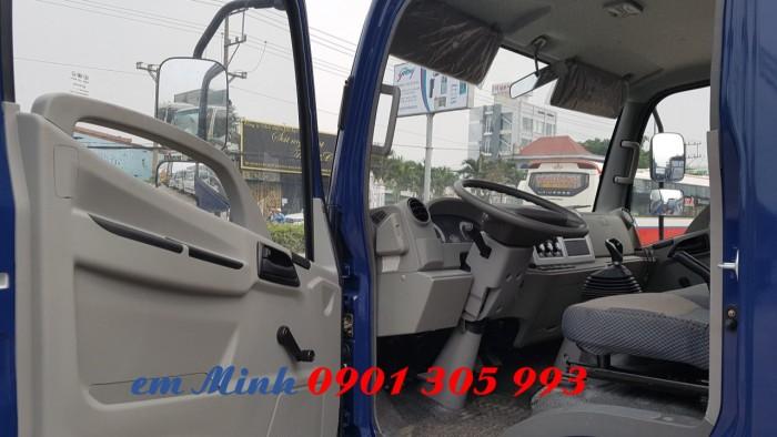 Xe tải Hyundai 7 tấn 3 thùng dài 6m3, xe tải thùng kèo bạt giá rẻ 2
