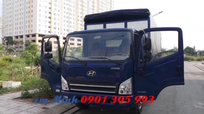 Xe tải Hyundai 7 tấn 3 thùng dài 6m3, xe tải thùng kèo bạt giá rẻ 0