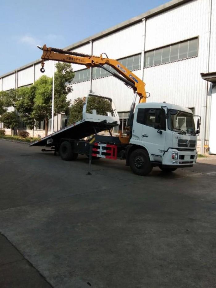 Xe cứu hộ Dongfeng gắn cẩu 3 chức năng 2