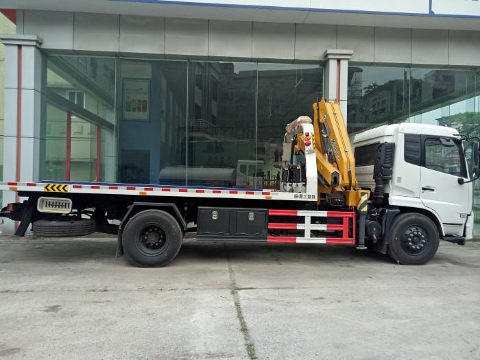 Xe cứu hộ Dongfeng gắn cẩu 3 chức năng 1