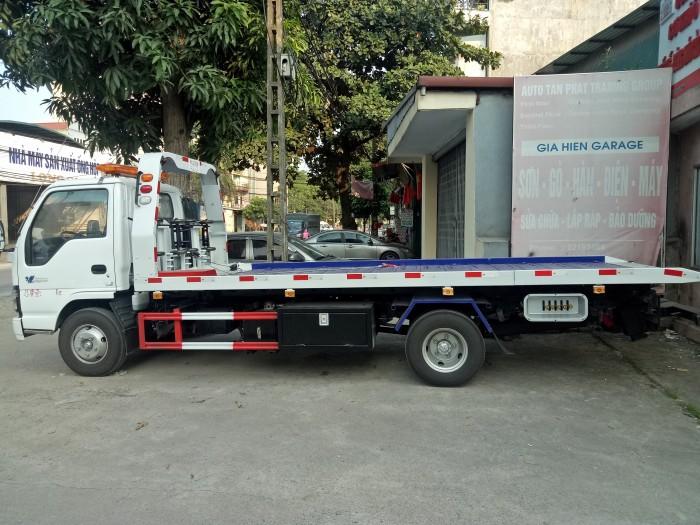 Xe cứu hộ Isuzu sàn trượt 2,2 tấn
