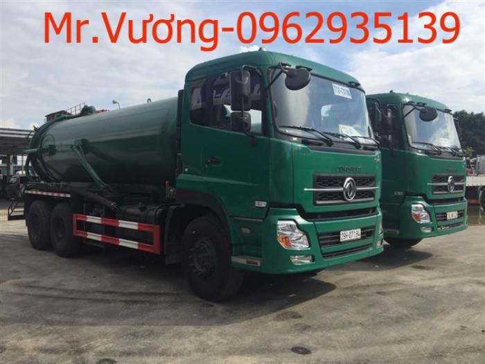 Xe hút chất thải Dongfeng 13 khối